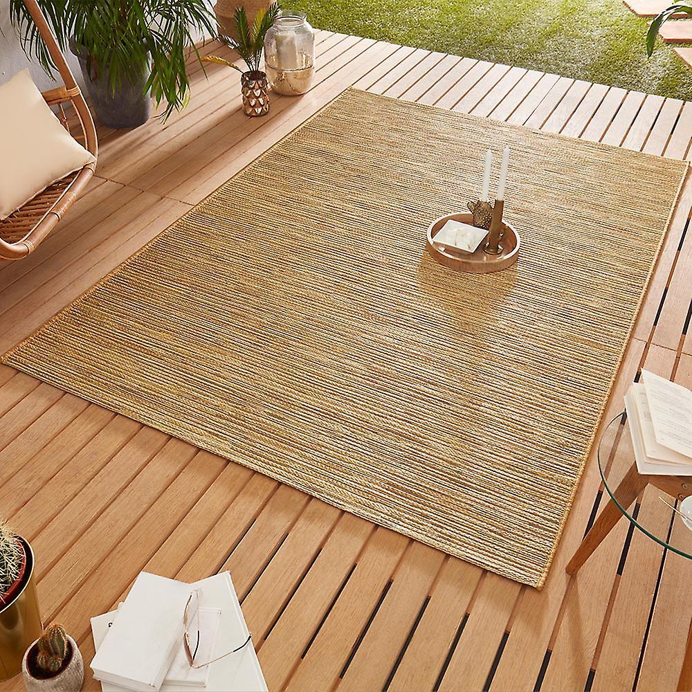 Conception de plein airteppich Web tapis tissage plat   Or de lierre