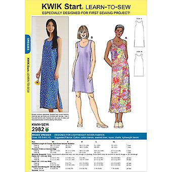 Dresses-XS-S-M-L-XL -*SEWING PATTERN*
