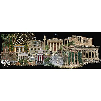 Athens On Aida Counted Cross Stitch Kit-31