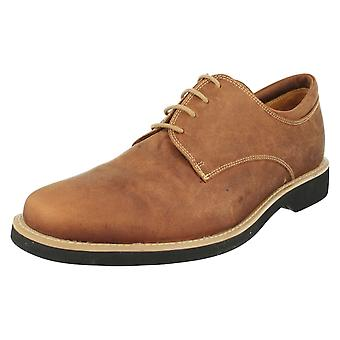 Mens Anatomic & Co Delta Smart/Casual Lace Up - Cognac Mustang - UK Size 9.5 - EU Size 44 - US Size 10.5