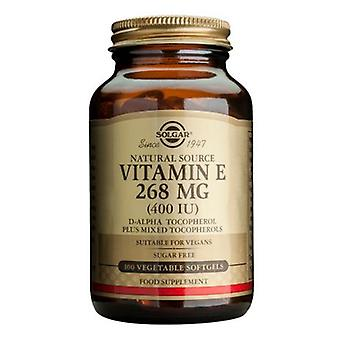 Solgar, Vitamin E  268 mg (400 IU) Vegetarian Softgels, 100