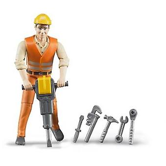 Brother bworld construction workers with accessories