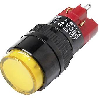 DECA D16LAR1-1abJY Pushbutton switch 250 V AC 5 A 1 x Off/On IP40 latch 1 pc(s)