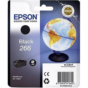 Inchiostro di Epson T2661, 266 C13T26614010 nero originale