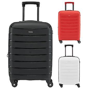 Titanium grænse 4-roller Boardcase kabine håndbagage trolley 55 cm
