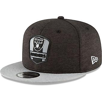 New era Snapback Cap - sideline away Oakland Raiders