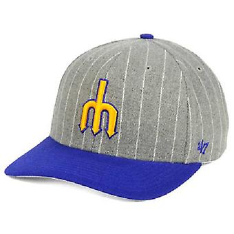 Seattle Mariners MLB 47 Brand Holbrook Snapback Hat