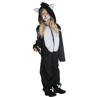 Black Cat cat kostium dzieci cat kostium kombinezon