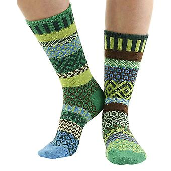 Earth recycled cotton multicoloured odd-socks   Crafted by Solmate