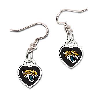 Wincraft dames 3D hart oorbellen - NFL Jacksonville Jaguars