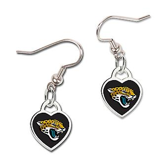 Wincraft ladies 3D heart earrings - NFL Jacksonville Jaguars