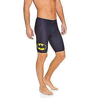 Zoggs Men's Batman Jammer, Black
