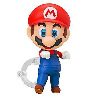 Nintendo Nendoroid 473 Super Mario Actionfigur bedruckt, aus 100% Kunststoff, in Geschenkverpackung.