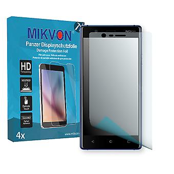 Nokia 3 Screen Protector - Mikvon Armor Screen Protector (Retail Package with accessories) (reduced foil)