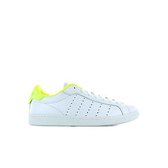 DSQUARED2 SANTA MONICA WHITE FLUO YELLOW SNEAKER