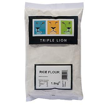 Dreifach-Lion Gluten frei weiß Reismehl
