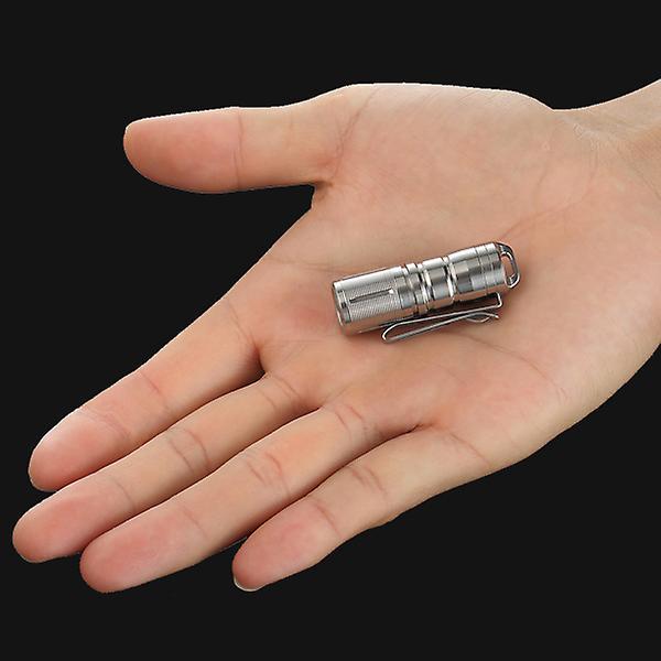NITEYE by JETBeam - Mini-TI - mini flashlight TITANIUM