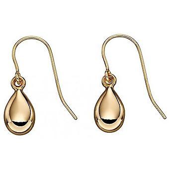 Beginnings Teardrop Earrings - Gold