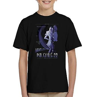 NASA PSO J318 5 22 Interplanetary Travel Poster Kid's T-Shirt