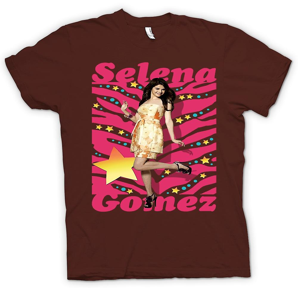 Mens T-shirt - Selena Gomez - Dress