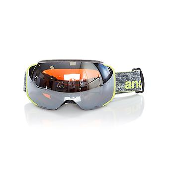 Anon Weave-Sonar Silver 2018 M2 - With MFI Facemask Snowboarding Goggles