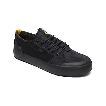 DC Evan Smith Black-Black-Yellow Signature Series - Sherpa Lined Shoe