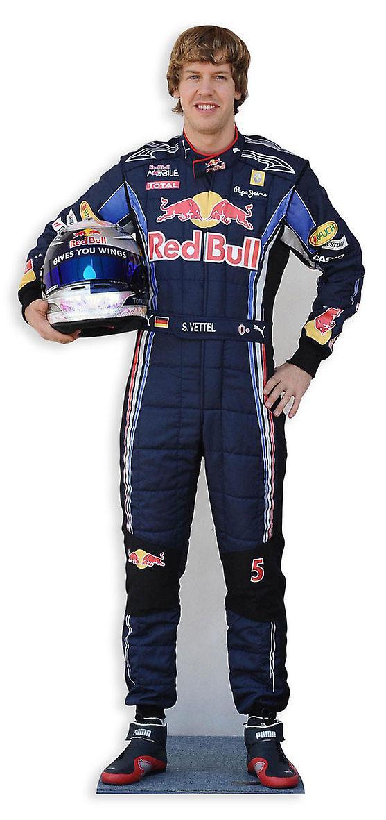 Sebastian Vettel Lifesize Cardboard Cutout / Standee / Standup