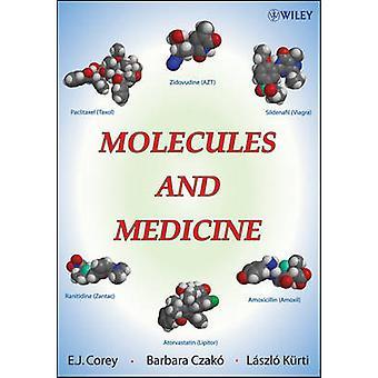 Medicina de E. J. Corey - Laszlo Kurti - Barbara Czako y moléculas