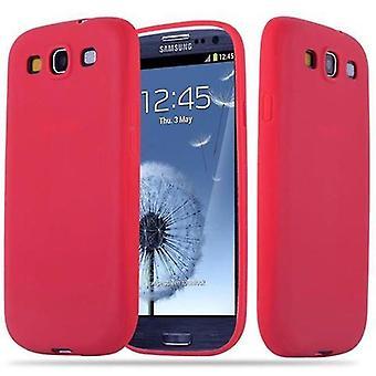 Cadorabo etui til Samsung Galaxy S3 / S3 NEO - mobile sagen TPU silikone slik design - silikone case cover ultra slanke blød tilbage cover tilfældet kofanger