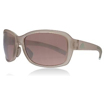 Adidas AD21 6051 Vapour Grey Baboa Rectangle Sunglasses Lens Category 3 Lens Mirrored Size 58mm
