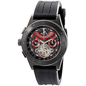 Burgmeister-automatic analog wrist watch, silicone, male