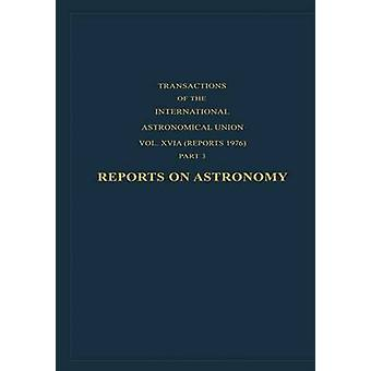 Reports on Astronomy by Contopoulos & G.