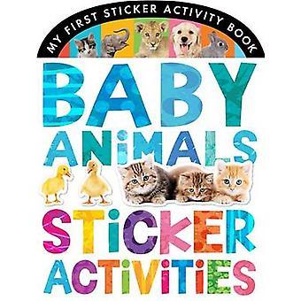Bébé animaux Sticker activités par Jonathan Litton - Matthew Isherwoo