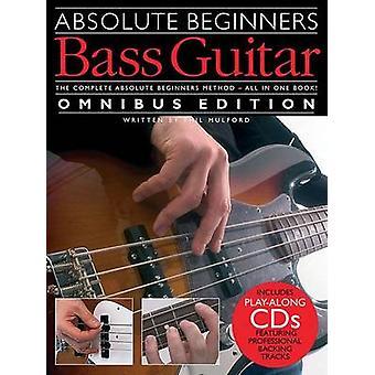 Absolute Beginners - Bass Guitar - Omnibus Edition (Book/Audio Downloa