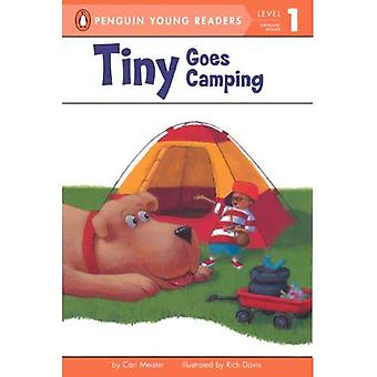 Winziger geht Camping