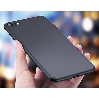 Матовый черный чехол - iPhone 8