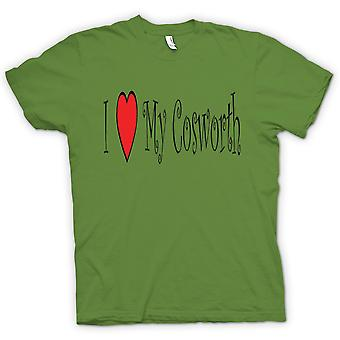 Kids T-shirt - I Love My Cosworth - Fun Car