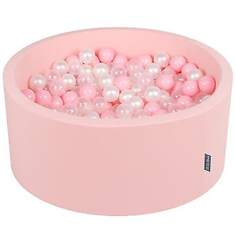Kiddymoon Baby Foam Ball Pit 90X40 With Balls ∅ 7Cm/2.75In Certified Made In EU