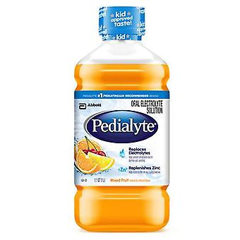 Pedialyte oral electrolyte maintenance solution, mixed fruit, 33.8 oz