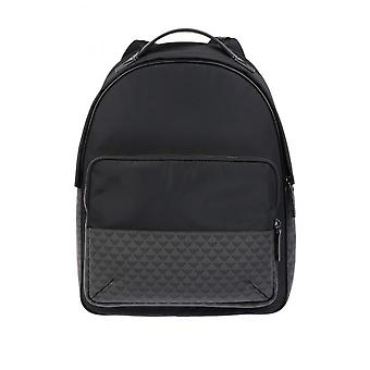 Backpack - Emporio Armani - D�tails En Cuir - Bords Finis