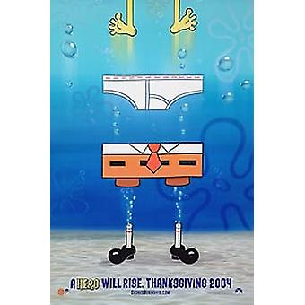 Spongebob Squarepants Film (Doppelseitige Vorschuss) Original Kino Poster