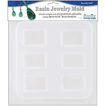 Resin Jewelry Reusable Plastic Mold 6 1 2
