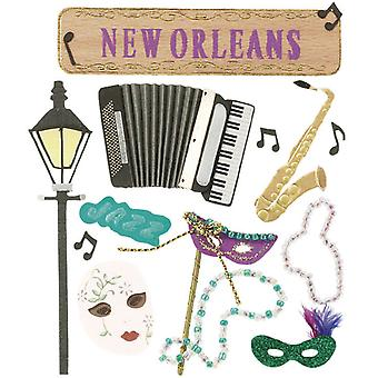 Jolee's Boutique Dimensional Destination Sticker New Orleans Spje 019