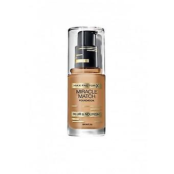 Max Factor Max Factor Maquillaje Base Miracle Match 80 Bronze