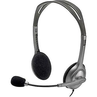 PC headset 3.5 mm jack Stereo, Corded Logitech H111