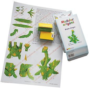 Modular Origami Kit-Green Dragon AN151