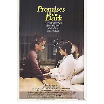 Løfter i mørk film plakat utskriften (27 x 40)