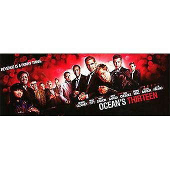 Oceans Thirteen Movie Poster (17 x 11)
