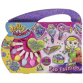 Fab Fashion Jelly Stickers Super Activity Set