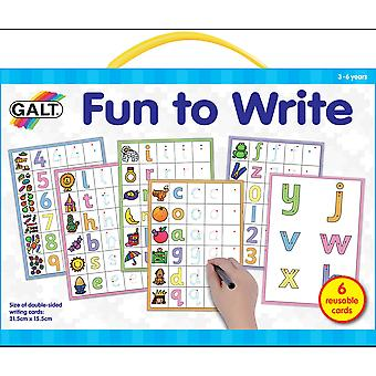 Galt Fun To Write Learning Cards